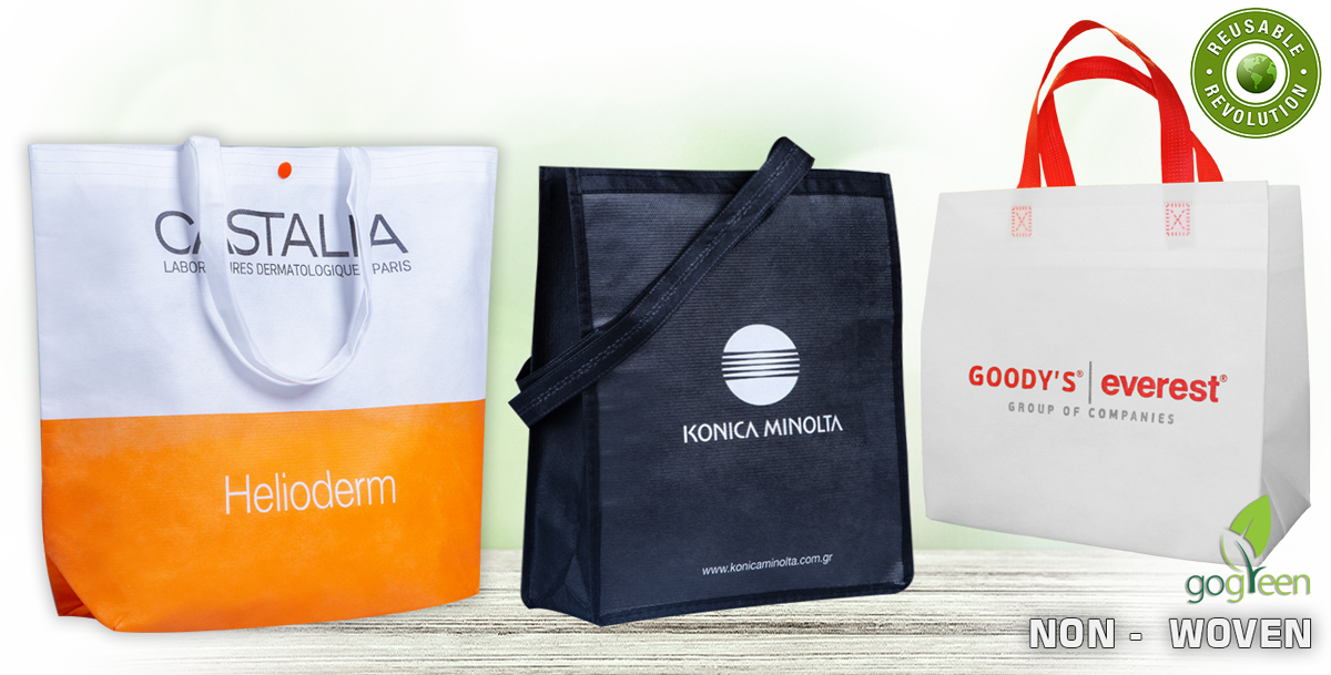 Non Woven Reusable Shopping Bags - Eco friendly