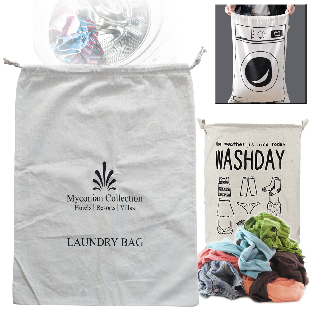 LAUNDRY BAGS COTTON